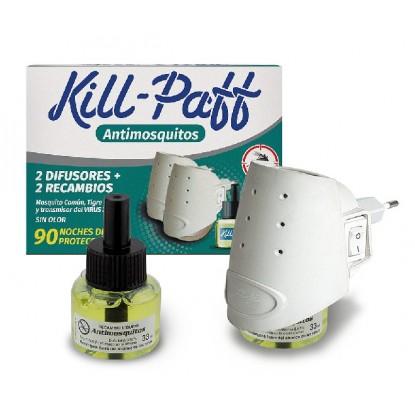 KILL-PAFF 2 APARATOS + 2 RECAMBIOS