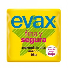 evax fina segura normal 16 uds