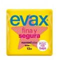EVAX FINA & SEGURA NORMAL ALAS 12 UDS