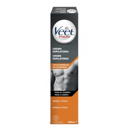 VEET FOR MEN CREMA TUBO 200 ML.
