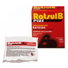 RATSUL B PLUS RATICIDA 120 GRS.