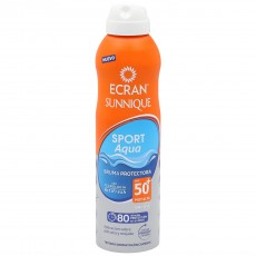 ECRAN INVISIBLE SPORT AQUA SPF50 AEROSOL 250 ML.