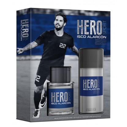 HERO SPORT ISCO ALARCON EDT 100 VAPO + DEO