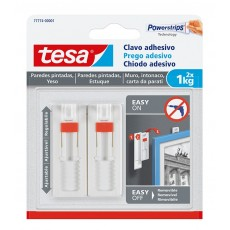 TESA CLAVO ADHESIVO AJUSTABLE 1 KG PARED