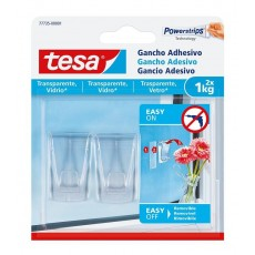 TESA GANCHO L TRANSPARENTE DECOR