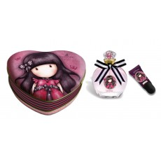 GORJUSS LADYBIRD ESTUCHE CORAZON + EDT + BRILLO