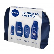 NIVEA NECESER CUIDADO BODY + ROLLON + GEL + MANOS