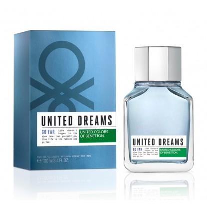 BENETTON UNITED DREAMS GO FAR MEN EDT 100 VAPO