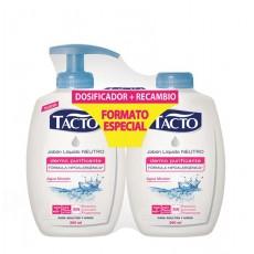 TACTO JABON 300 ML. AGUA MICELAR + RECAMBIO