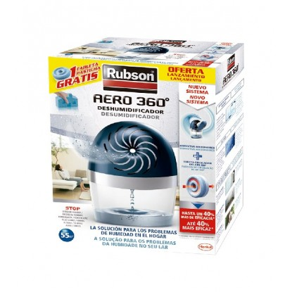 RUBSON AERO 360 APARATO 450 GR + RECAMBIO