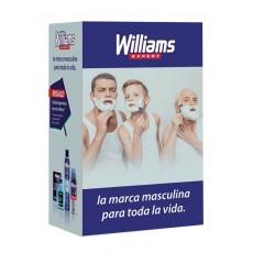 WILLIAMS PACK AFTER 200 + DEO + ESPUMA + TOALLA