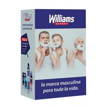 WILLIAMS PACK AFTER 200 + DEO + ESPUMA + TOALLA