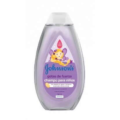 JOHNSON'S CHAMPU 500 ML. GOTAS FUERZA