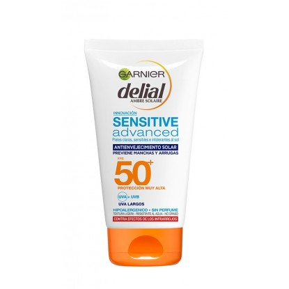 DELIAL 100 ML. SENSITIVE AGE PROTECT SDF 50