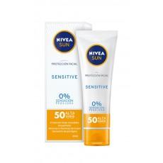 NIVEA 050 ML CREMA FACIAL SENSITIVE SPF50