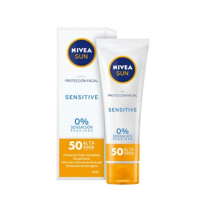 NIVEA 050 ML CREMA FACIAL SENSITIVE SPF50