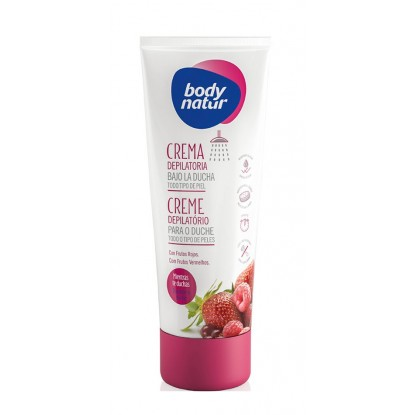 BODY NATUR CREMA 200 ML BAJO DUCHA FRUTOS ROJOS