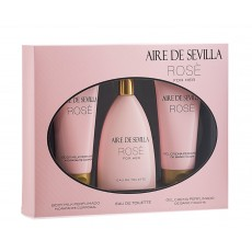 AIRE DE SEVILLA ROSE 150 ML + BODY + GEL
