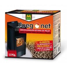 FUEGO NET DESHOLLINADOR ESTUFA PELLET