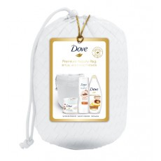 DOVE BEAUTY BAG - GEL ARGAN + LOCION + EXFOLIANTE