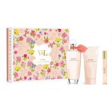 V & L VIVA! EDT 100 VAPO + BODY 75 ML  + MINI