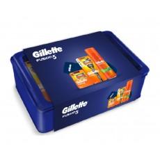 GILLETTE PACK FUSION 5 ( MAQUINILLA +5 RECAMBIOS + BASE )