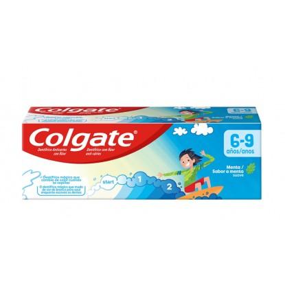 COLGATE 50 ML INFANTIL 6 a 9 AÑOS MENTA