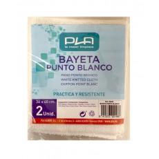 PLA BAYETA PUNTO BLANCO PACK 2 UDS