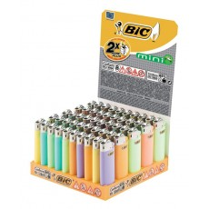 BIC MECHERO MINI J25 50 UDS. COLORES