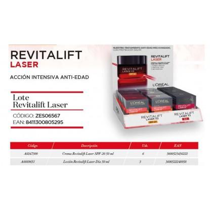 L'OREAL SKIN LOTE REVITALIFT LASER X 3 9 UDS