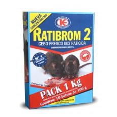 RATIBROM-2 CEBO FRESCO 003 1 KG 10 X 100 GR