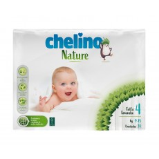 CHELINO PAÑALES NATURE T4 34 UDS (9-15K)