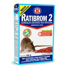 RATIBROM-2 RATICIDA 150 GRS. CEREAL