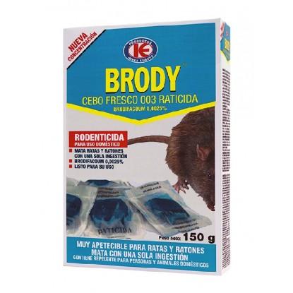 BRODY CEBO FRESCO 003 BD 150 GRS.
