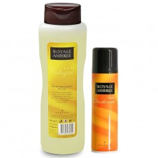 ROYALE AMBREE EDT 750 ML + DEO SPRAY 250 ML