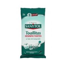 SANYTOL TOALLITAS DESINFECTANTES 30 UDS