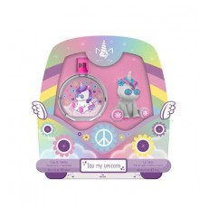 EAU MY UNICORN SET EDT 50 ML HIPPIE + LLAVERO