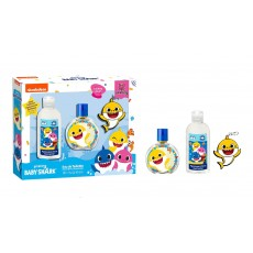 BABY SHARK SET EDT 50 ML + GEL + LLAVERO