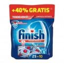 FINISH PASTILLAS 25 UDS+10 UDS