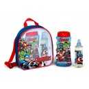 AVENGERS MOCHILA EDT 200 ML + GEL 475 ML