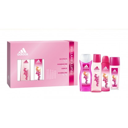 ADIDAS WOMAN FRUITY EDT 75 + DEO + GEL + DEO P