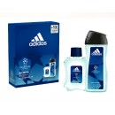 ADIDAS MEN UEFA6 EDT 100 VAPO + GEL 250 ML