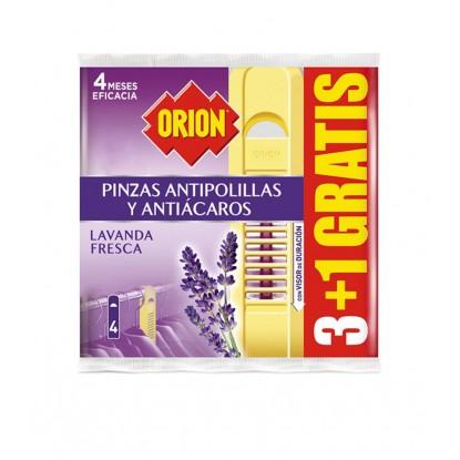 ORION PINZA ANTIPOLILLA LAVANDA 3 + 1