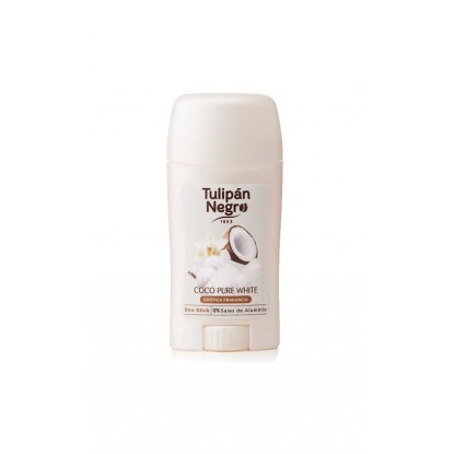 TULIPAN NEGRO DEO STICK 50 ML COCO PURE WHITE