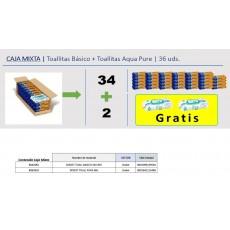 DODOT TOALLITAS CAJA MIXTA 34 BASIC + 2 PURE